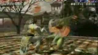 バーチャフ ァイター4 格闘新世紀 準決勝 バイアグラ ウ vs セガール
