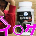 【18禁】タイ旅行お土産でバイアグラ買ってきて飲ませてみたww 健康サプリ紹介  クラチャイダム 【パトリック】